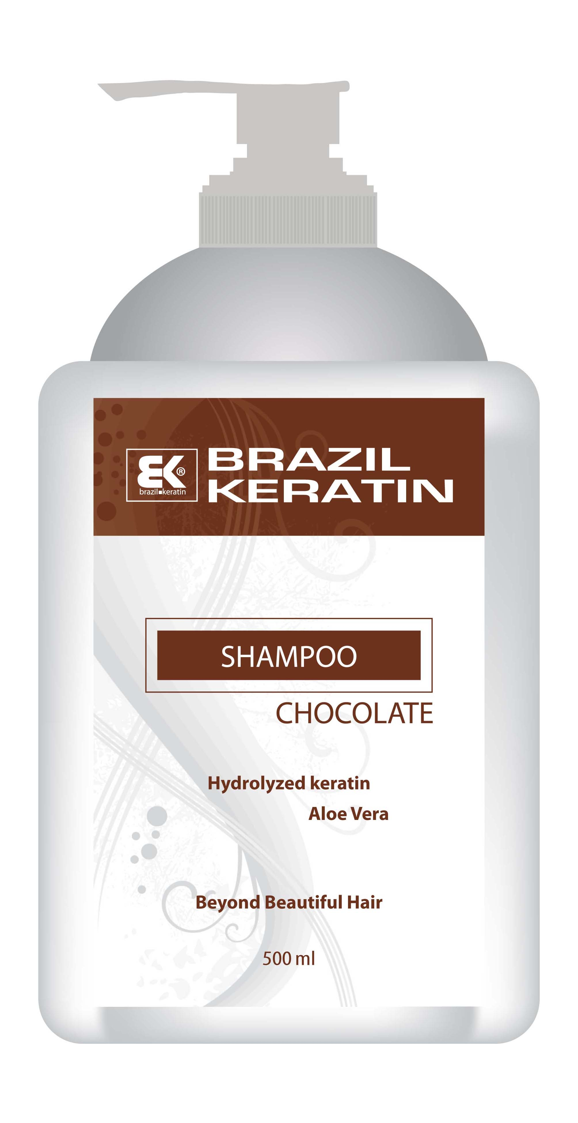 Shampoo Chocolate 500 ml