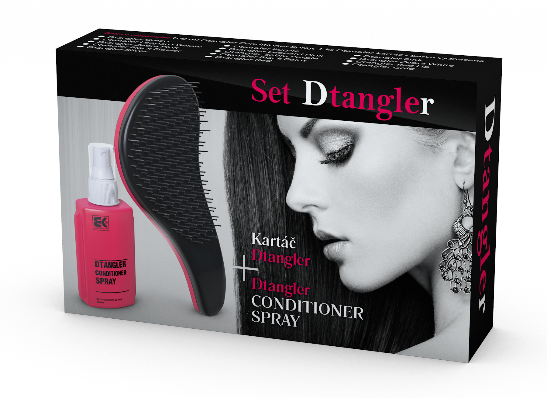 Dtangler Conditioner Spray Set
