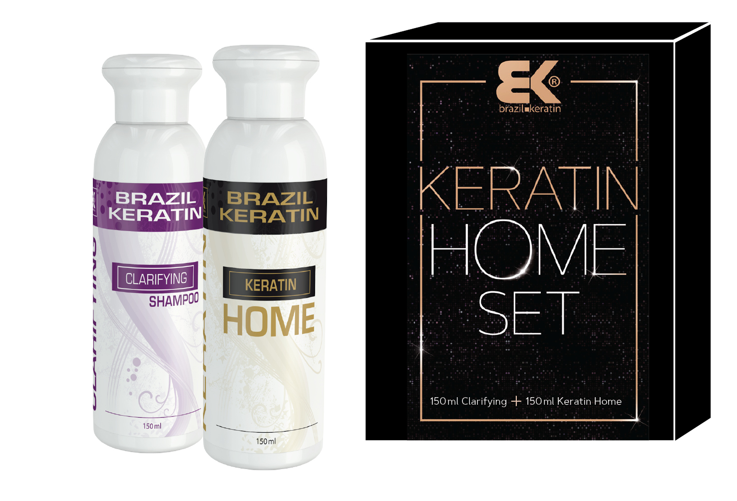 Beauty keratin SET Home